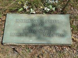 Sgt Raymond E Smith