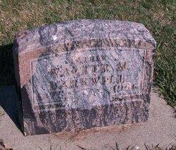 Walter M Barkwill