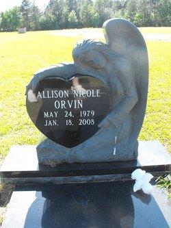 Allison Nicole Nikki Orvin