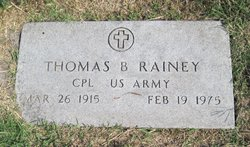 Thomas Benajah Rainey, Sr