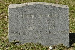 Martha B. <i>Laseter</i> Akins