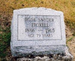 Rose <i>Snyder</i> Troxell