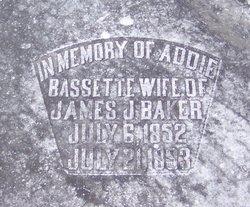 Addie <i>Bassett</i> Baker