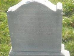 Jemima Jane Jennie <i>Kiddle</i> Brooks