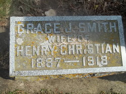 Grace J <i>Smith</i> Christian