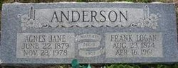 Agnes Jane <i>Morwood</i> Anderson