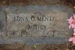 Mrs Edna G. <i>Warner</i> Mentzer
