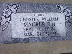 Chester William Mackereth
