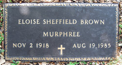 Eloise <i>Sheffield</i> Brown Murphree