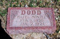 Hazel <i>Montez</i> Dodd