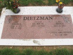 Helen M. <i>Weidinger</i> Dietzman