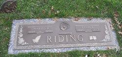 Charles D Riding