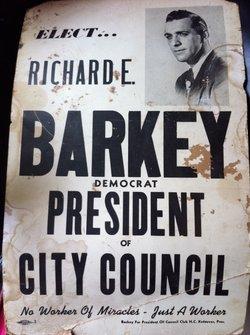 Richard Earl Barkey