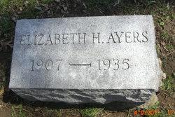 Elizabeth <i>Hall</i> Ayers