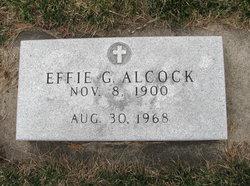 Effie Grace <i>Gillett</i> Alcock