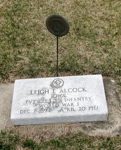 Leigh Everett Alcock