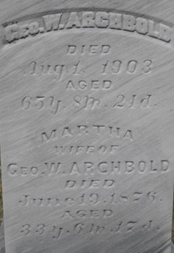 Martha <i>Russell</i> Archbold