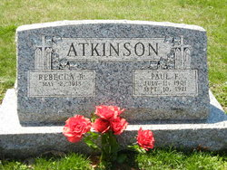 Rebecca Bell <i>Wilson</i> Atkinson