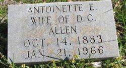 Antonette Elizabeth <i>Brantley</i> Allen