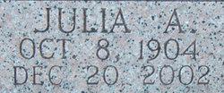Julia A <i>Tubb</i> Holt
