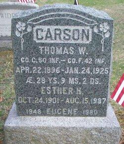 Thomas W Carson
