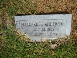 Margaret Elizabeth <i>Knight</i> Anderson