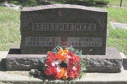 Bertha Dell <i>Jewett</i> Behrenbrinker