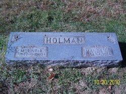 Maude Ethel Maudie <i>Wilson</i> Holman
