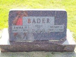 Emma H <i>Hochhalter</i> Bader