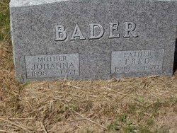 Fred Bader