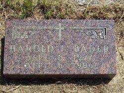 Harold F Bader