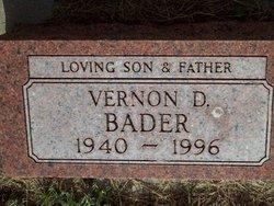 Vernon D Bader