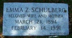 Emma <i>Zeeman</i> Schulberg