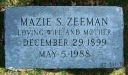 Maizie <i>Siegel</i> Zeeman