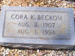 Cora <i>Kelley</i> Beckom