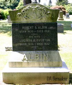 Lucinda B <i>Overton</i> Albin