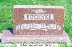 Lillian Margaret <i>Hollatz</i> Boehnke