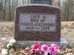 Lucy Mildred <i>Anderson</i> Alexander