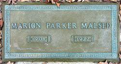 Marion Parker Malsed