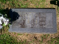 Lucy J. <i>Thedford</i> Davis
