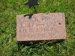 Benjamin Franklin Boutwell
