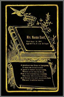 Naoma A. <i>Richards</i> Knott