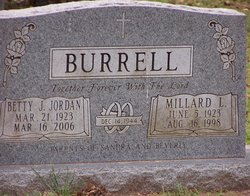 Betty J. <i>Jordan</i> Burrell