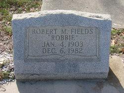 Robert M Robbie Fields