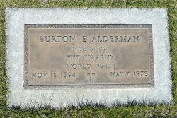 Burton E Alderman