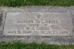 Anna B <i>Hawkins</i> Diehl