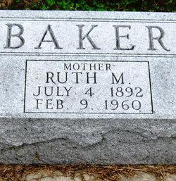 Ruth M. <i>Sheets</i> Baker