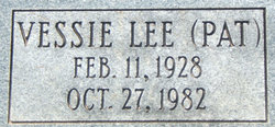 Vessie Lee Pat Bartley, Jr