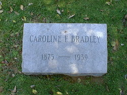 Carolyn Freda Carrie <i>Meriwether</i> Bradley