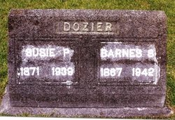 Susie P <i>Johnson</i> Dozier